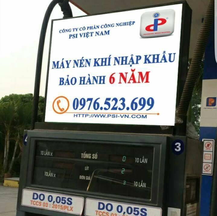Máy nén khí trục vít bảo hành tại PSI Việt Nam