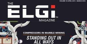 Điểm khác biệt của dòng sản phẩm máy nén khí trục vít ELGI