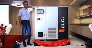 Máy nén khí trục vít độ rung thấp giảm tiếng ồn trong quy trình sản xuất