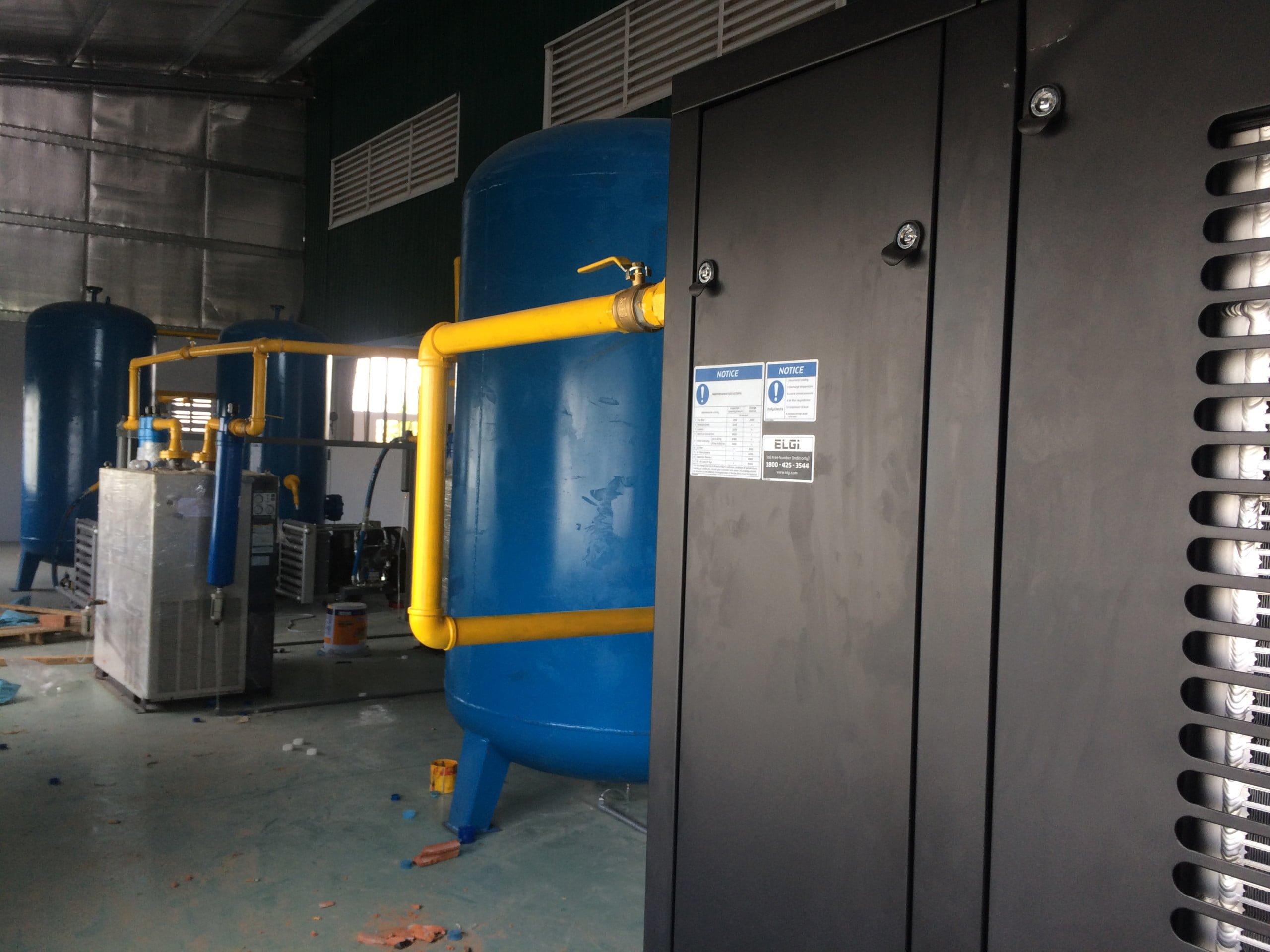 Tối ưu hệ thống khí nén đem lại hiệu suất cao