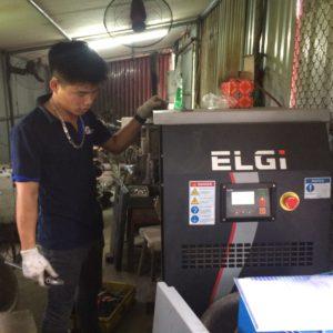 Khẳng định chất lượng khí nén khi dùng máy nén khí trục vít
