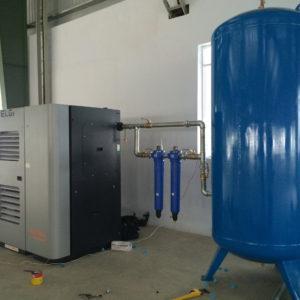 Hệ thống quản lý chất lượng sản xuất máy nén khí trục vít tại Ấn Độ
