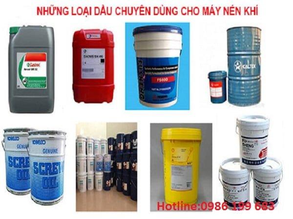 Lưu ý khi sử dụng dầu máy nén khí đảm bảo các yêu cầu kỹ thuật