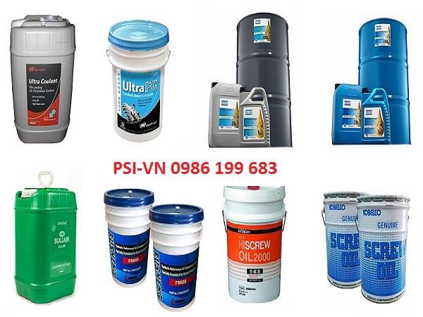 Mua dầu máy nén khí trục vít tại PSI Việt Nam