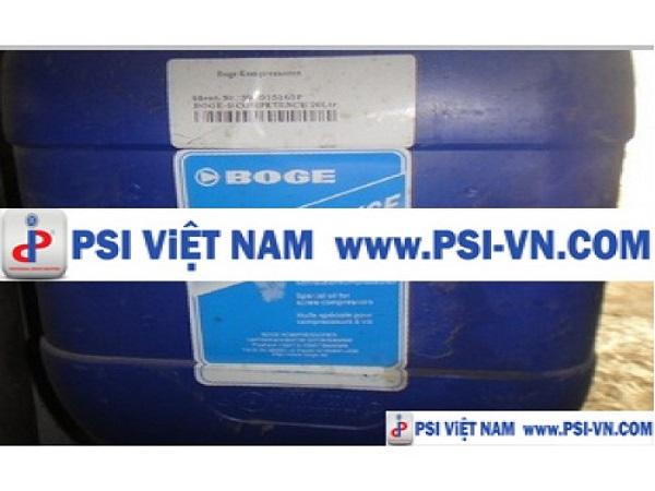 PSI Việt Nam phân phối dầu máy nén khí BOGE