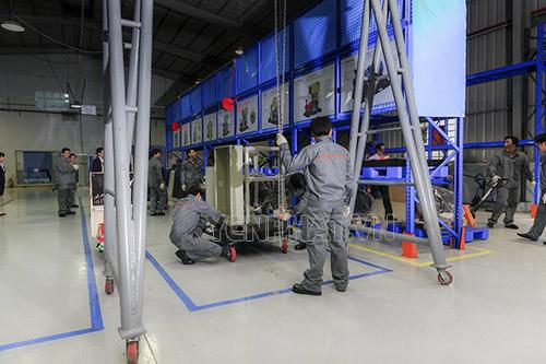 Bảo trì và sửa chữa máy nén khí trục vít